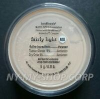 Bare-Escentuals bareMinerals Fairly Light MATTE N10 6g XL foundation SPF15