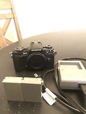 Olympus OM-D E-M5 Mark II 16.1MP Digital SLR Camera Body Only - Black