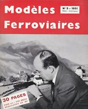 revue modéles ferroviaires fascicule 5  (1951)