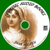 JANE AUSTEN BEST ENGLISH CLASSIC NOVELS 10 AUDIO BOOKS NEW MP3 PC/DVD PERSUASION