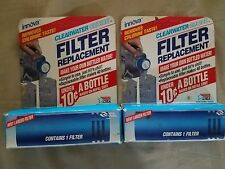 2 Clearwater Choice Bottled Water Filters Lot Fits Innova Sports Bottles Filter