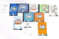 The Sims Deluxe Edition PC University Unleashed Superstar Makin Magic Expansion