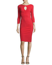 $795 LA PETITE ROBE di CHIARA BONI TYRA DRESS in RED NWT SZ 44/8