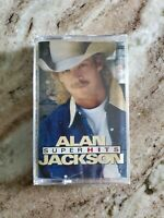 Alan Jackson - Super Hits (Cassette Tape) NEW & SEALED