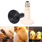 Nonluminous Infrared Ceramic Reptile Heating Lamp Light Bulb 75W 100W 150W