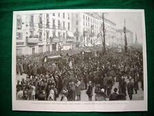 A Milano nel 1895, Inaugurazione cinque giornate + Sposalizio vergine, quadro