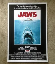 Jaws Roger Kastel Mondo Signed Movie Poster Print Art One Sheet Shark Spielberg