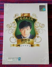 Andy Lau ( 劉德華 ) ~ EMI至愛經典系列_劉德華 (2CD) (Hong Kong Press) Cd