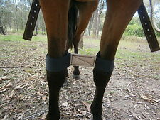Knee Hobbles, Quick Release - ( Leather Lined) PONY SIZE