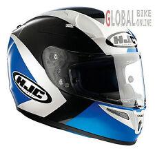 HJC R-PHA 10 Ancel Full Face Motorcycle Motorbike Helmet Blue L