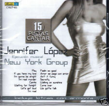 Jennifer Lopez 15 Pistas Para Cantar  Play Back   BAND NEW SEALED   CD