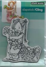 """""""Carrot Collecter"""" Slapstick/Cling Stamp by Penny Black"""