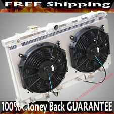 Radiator + Fans + Shroud fit 02-07 Subaru Impreza EJ20 EJ25 MANUAL only 2 Row 2""