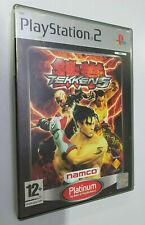 Tekken 5 - Playstation 2 Ps2 (platinum)