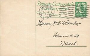 ✱ SWITZERLAND  ✱ NICE 1925  ENTIRE POSTAL STATIONERY ✱
