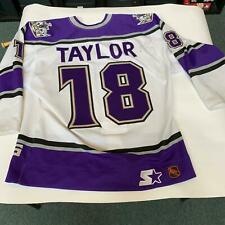 7150caaffe5 Dave Taylor Signed Game Used Los Angeles Kings Jersey With PSA DNA COA