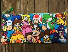 Nintendo Pals Handmade Pencil Case / Back To School Supplies