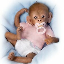 Ashton Drake Coco So Truly Real Lifelike Baby Monkey Doll By Linda Murray