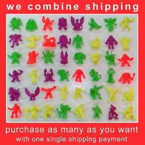 MONSTER IN MY POCKET MIMP SERIES 1 NEON ALL FIGURES FROM #1 TO #48 (we combine)