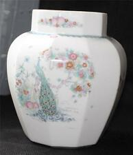 "Vintg 1989 Royal Doulton Bone China England Jrdjar Summer 6 3/4"" Vase Jar no Lid"