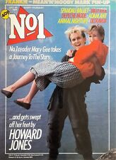 No 1 Number One Oct 1984 - Howard Jones / Spandau / Billy Idol / Depeche Mode