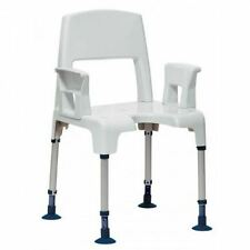 Invacare Aquatec Pico Height Adjustable 2-in-1 Shower Chair Bathroom Seat