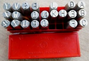10 mm letter stamps NOT FULL SET as new Priority England high industrial quality