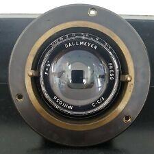 Dallmeyer Press f3.5 150mm 6in fast portrait lens medium large format
