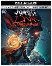 Justice League Dark: Apokolips War (4K Uhd, Blu-ray + Digital) 2020 New!