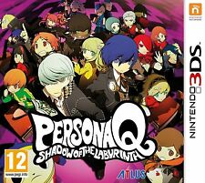 PERSONA Q SHADOW OF THE LABYRINTH Nintendo 3DS Video Game UK Release Sealed