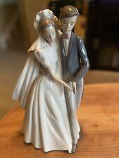 "Lladro-Nao Figurine #1247 ""Unforgettable Dance"" (Spain, 1996) Wedding Decor"