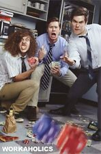 WORKAHOLICS ~ DICE ~ 24x36 TV POSTER ~ NEW/ROLLED!