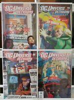 Universe Decisions 1 2 3 4 Complete Set Series Run Lot 1-4 VF/NM