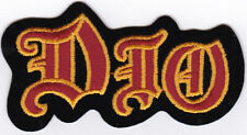 RONNIE JAMES DIO - IRON or SEW-ON PATCH