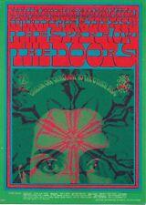 The Doors The Sparrow Country Joe & The Fish Victor Moscoso Handbill 1967 Fd050