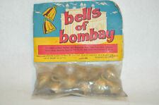 Vintage Gungroo Bells #60 Cow Ox Elephant Animal Bell From Bombay India