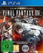 Final Fantasy XIV Starter Edition (Sony PlayStation 4, 2017) NEU & OVP