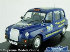 LONDON TAXI FX4 MODEL CAR REAL RADIO 1:43 SCALE OXFORD DIECAST TX4003 K8