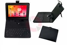 """Dfrnce DKB970 Funda y teclado universal para tabletas 9,7"""" negro"""