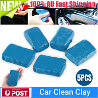 5PCS Car Clean Clay Bar Mud Detailing Cleaner Truck Soap Modeling Clay Washer AU