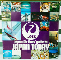 Japan Air Lines' Guide to Japan Today! Vintage Japanese Promotional Advertising!