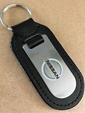 NEW Nissan key ring, Genuine Leather, Leaf, Micra, Qashqui, Juke, Pulsar, Navara