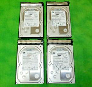 HP 628182-001  3TB SATA HARD DRIVE 3.5 inch 7200RPM 628061-B21    LOT OF 4   @6