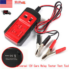 12V Electronic Automotive Relay Tester Cars Auto Battery Checker P7C0 Tool US