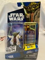 Star Wars The Clone Wars Galactic Battle Game Figure Yoda - CW05