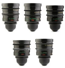 *BUY or RENT* Lomo ILLUMINA 5x Super Speed Lens Set 18 25 35 50 85 ARRI PL Mount