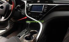 ABS Chrome Inner Center Console Stripe Decorative Trim For Toyota Camry 2018