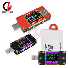 UT21/UT21B/UT25 Color Diplay LCD Current Voltage Power Temp USB Tester UM24C