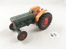 RARE VINTAGE BRITAINS # 9420 FARM TRACTOR GREEN & YELLOW DIECAST FARMING 1980