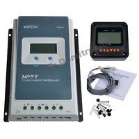 40A 30A 20A MPPT Solar Charger Controller 100V Epever Battery Regulator 12V/24V